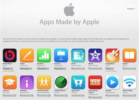 Apple Apps | apple adds beats music to app store list of apps made by