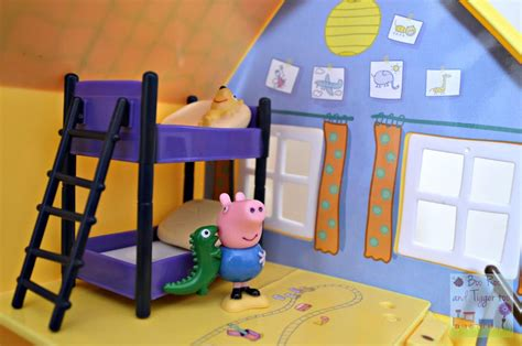pig bedroom peppa pig muddy puddles deluxe playhouse bedroom boo roo and tigger too