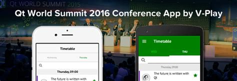 qt world summit  conference app open source