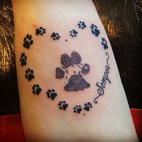 dog paw tattoo meaning wolf footprint meaning www pixshark images