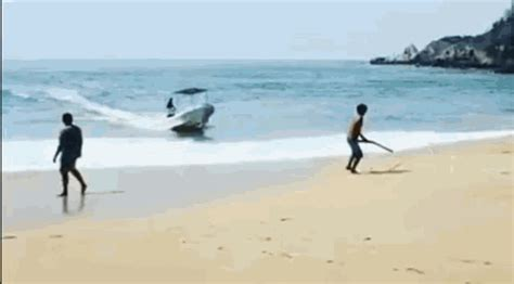 speed boat crash gif motor boat fail gif impremedia net