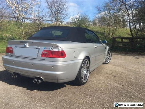 bmw m3 convertible for sale 2004 bmw m3 convertible for sale in united kingdom