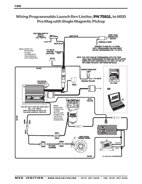 6425 msd ignition wiring diagram 6425 free engine image