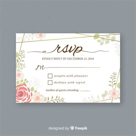 Rsvp Vectors, Photos and PSD files   Free Download