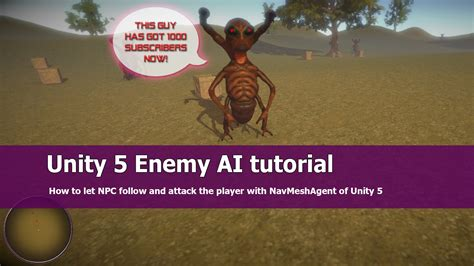Tutorial Unity 5 | unity 5 enemy ai tutorial jayanam gamedev tutorials