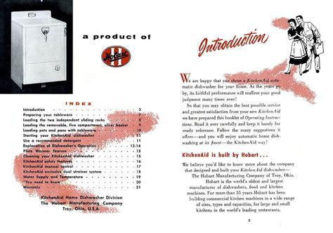 KitchenAid KD 11 Owner's Manual