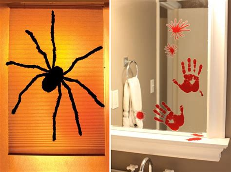 Fright Lined Dining Room 20 more halloween decorating ideas for a spooky celebration