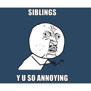 Y U So Meme Generator - y u no siblings y u so annoying meme generator polyvore