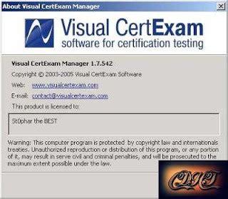 visual certexam manager full version download visual certexam serial keygen captainfiles