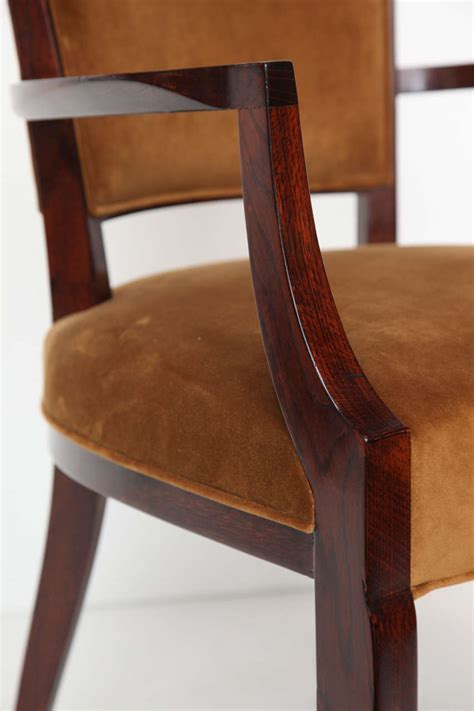 oak armchairs pair of oak armchairs france c 1930 for sale at 1stdibs