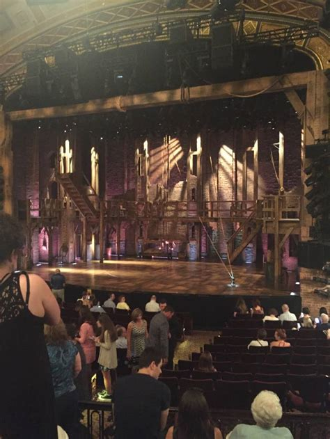 orch section richard rodgers theatre section orch row p seat 110