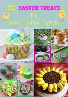 easter crafts and treats on easter eggs