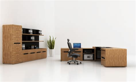 Omega Bamboo Office Furniture Collection Bamboo Office Desk