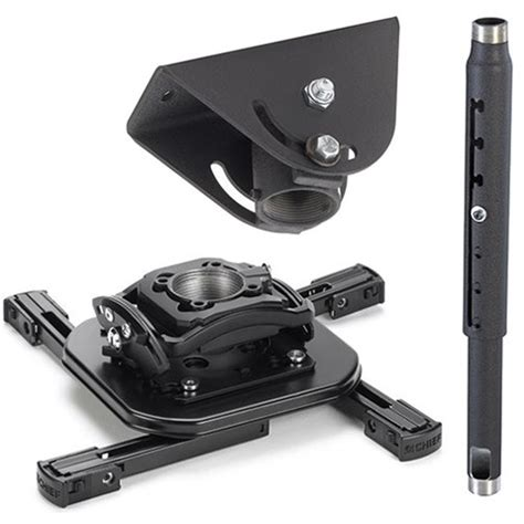Chief Universal Ceiling Mount - chief projector ceiling mount kit with universal kitma0305 b h