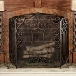 belleville fireplace screen