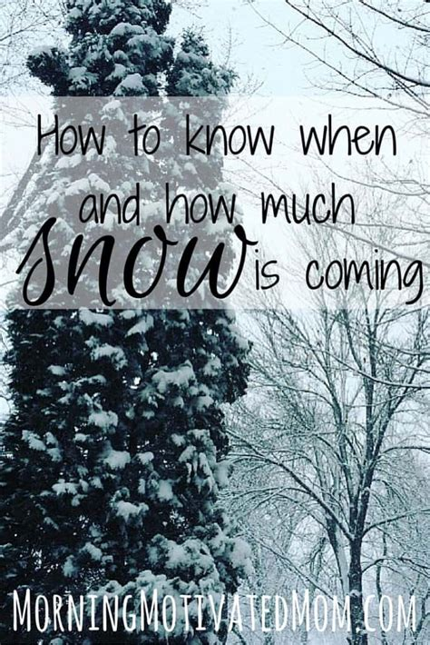 How To Tell How Much Is On A Gift Card - how to know when and how much snow is coming morning motivated mom