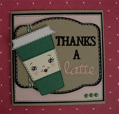 Combine Starbucks Gift Cards - thank you a latte cards coffee pinterest