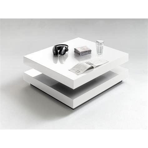 halo white high gloss coffee table home furniture