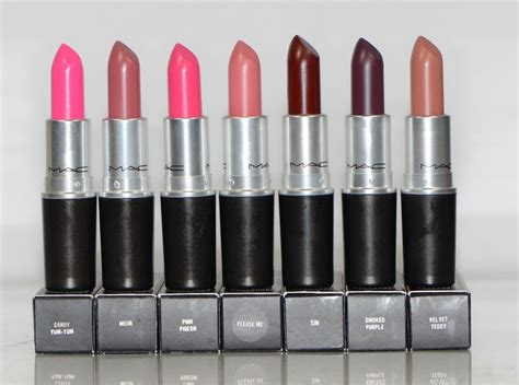 matte mac lipstick mac matte lipstick including new colors choose your color
