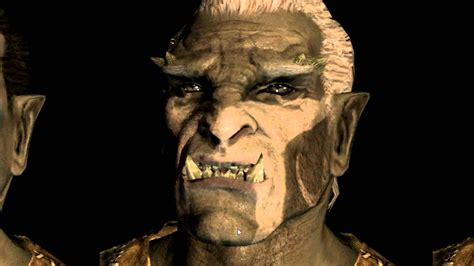 skyrim orc female face faces of skyrim orcs 20 new close up pictures analysed