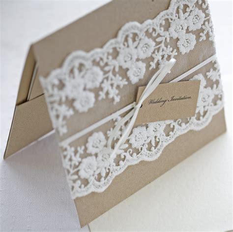 Hochzeit Einladung Spitze by Rustic Lace Wedding Invitations So Ipunya
