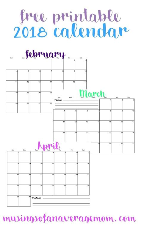 calendars images pinterest printable
