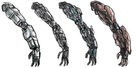 robotic arm upgrade by frost7 on deviantart