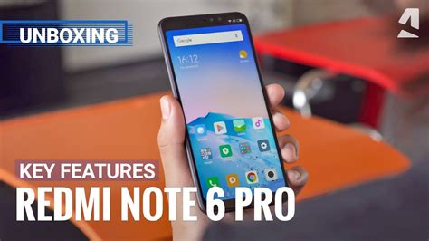 xiaomi redmi note 6 pro unboxing top features