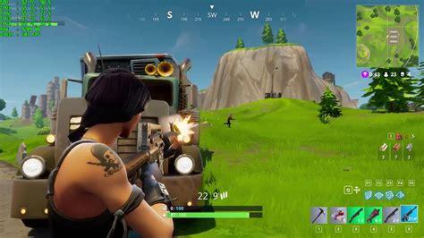 will fortnite be split screen fortnite gameplay epic settings on gtx 1070