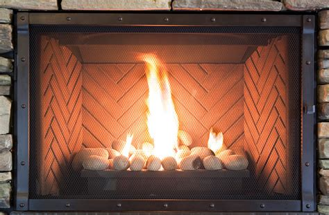 Fireplace Screens For Gas Fireplaces by Ironhaus
