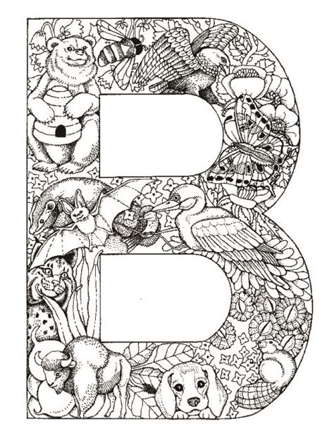 coloring pages animals alphabet coloring pages animal plant abc alphabet b