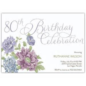 southgate 80th birthday invitations paperstyle