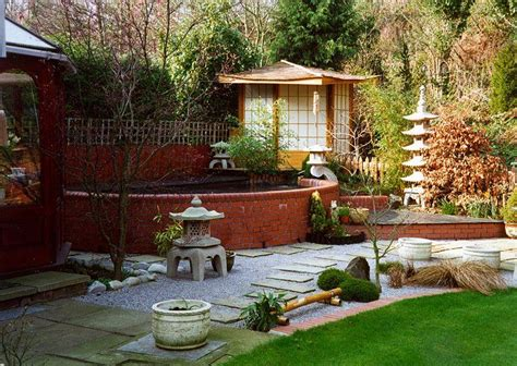 japanischer garten reihenhaus tea house with shoji doors japanese garden features