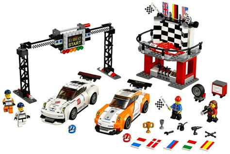 Trand Lego 75912 Porsche 911 Gt Finish Line Speed Chions Bds051 lego speed chions porsche 911 gt finish 75912 playzone be lego mega bloks playmobil