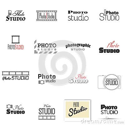 Photo Studio For Label Name Stock Vector Image 49674302 Studio Label Templates