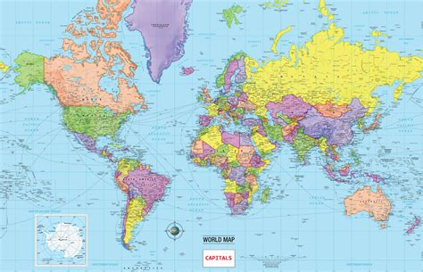 world map  cities  capitals  travel information