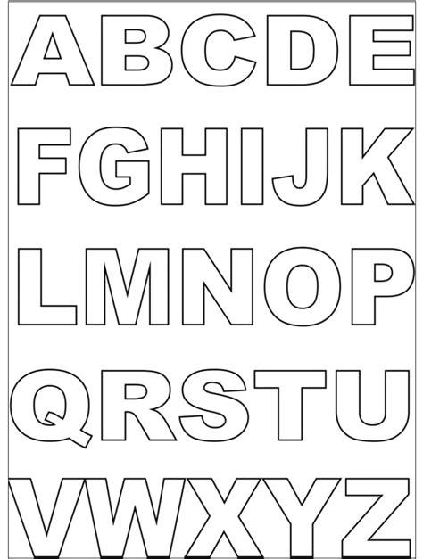lettere dell alfabeto da colorare 100 lettere dellalfabeto da colorare idees