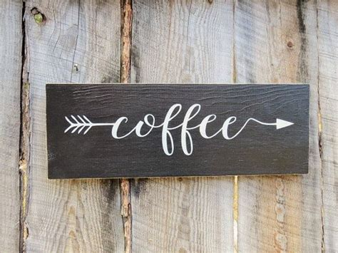 buy home decor rustic home decor kitchen decor sign coffee sign coffee
