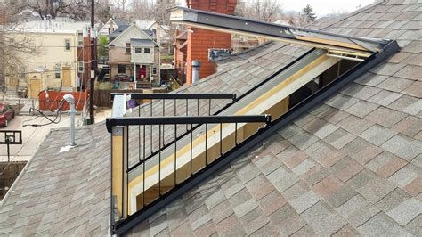 Cost To Dormer A Roof Velux Cabrio Installation Skylight Specialists Blog