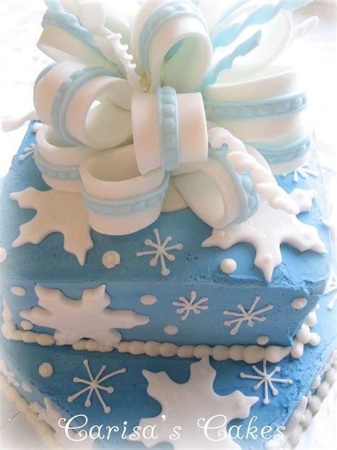 winter birthday decorations carisa s cakes a winter birthday cake