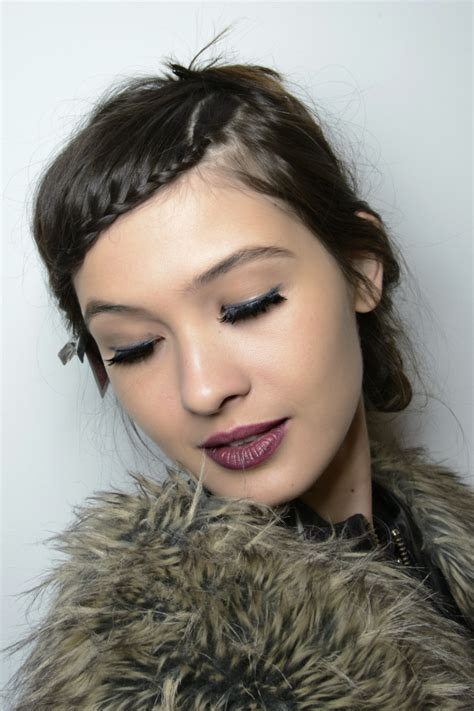 tomboyish front fringes learn how to french braid your bangs like a pro stylecaster