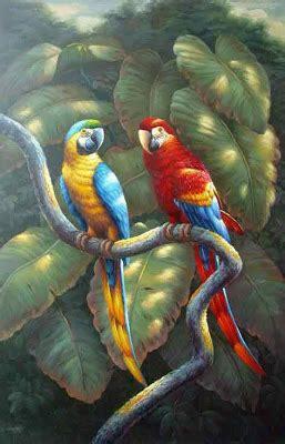 Batik Painting Burung Hantu vhaedyoverste lukisan2 burung