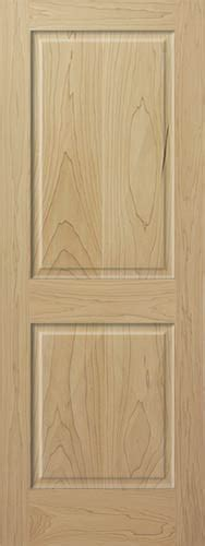 Poplar Interior Doors Poplar 2 Panel Wood Interior Doors Homestead Doors