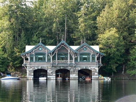 houseboat upstate new york adirondack boathouse ny state various pinterest