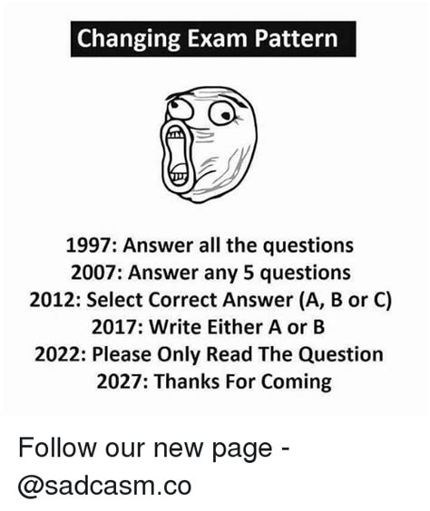 pattern questions for c changing exam pattern 1997 answer all the questions 2007