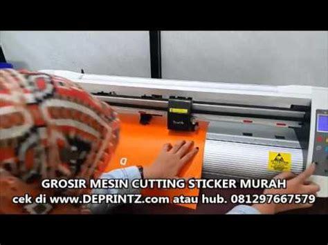 Mesin Cutting Sticker Tenneth 720 demo pemakaian mesin cutting sticker teneth th 740