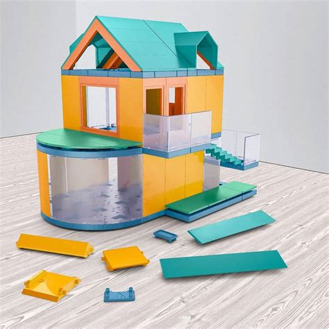 architectural model kits architectural model making kit go colours by arckit