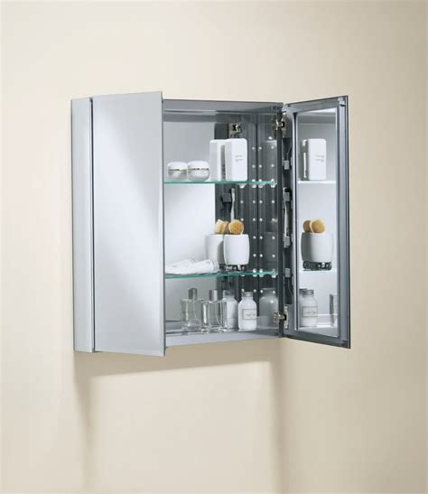 kohler bathroom mirror cabinet kohler k cb clc2526fs 25 by 26 by 5 inch double door