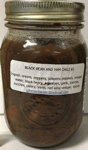 Bengkoang Yam Bean Extract 500 Ml black bean and yam chili manufactured by hinty s recalled due to potential c bot barfblog