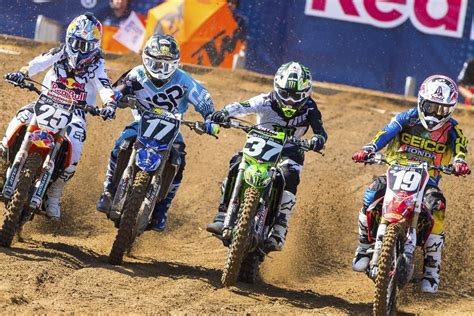 live motocross racing 2016 lucas pro motocross schedule announced racer x